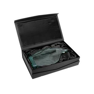 """Trofeo grande de Cristal-Jade modelo """"Flame"""". Presentación en caja de cartón forrado negro."""