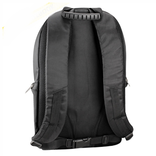 "Mochila Porta-Notebook modelo ""Blacktop"", con bolsillo delantero y apartado interior acolchado para Notebook. Tela Polyester 840D."
