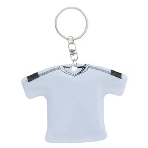 """Llavero de PVC con forma de polera. Ideal para vender a sus clientes bajo conceptos como """"mojar la camiseta"""", """"personal camiseteado"""", etc y especial para este año de Mundial de Fútbol."""
