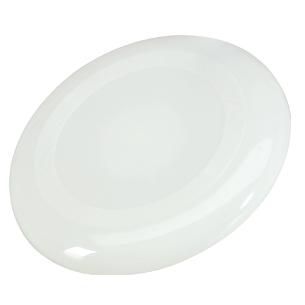 Frisbee plástico rígido.