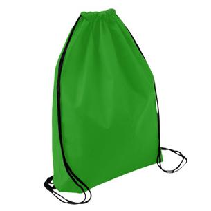 Bolso-Mochila Ecológico tipo Morral, en Tela TNT, 100% reciclable y reutilizable.